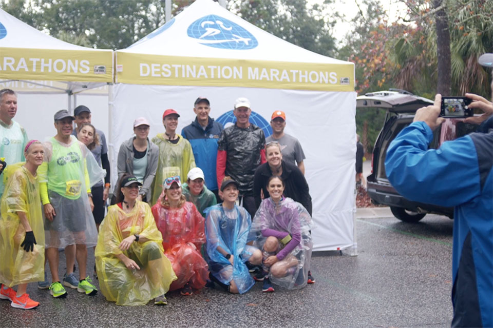Destination Marathons - Post race picute